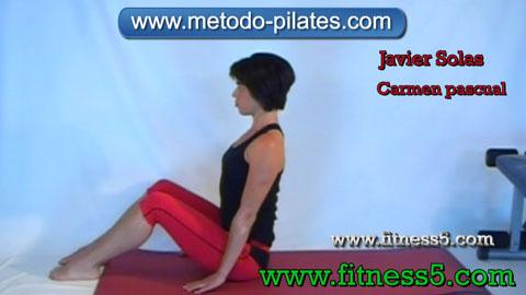 Pilates ejercicio. El bromista.
