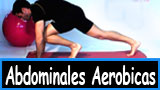 Ejercicios de abdominales aerobicas, quema grasas