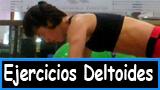 Ejercicios deltoides