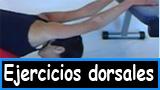 Ejercicios dorsales