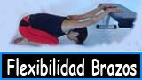 Ejercicios mejorar la flexibilidad de los brazos