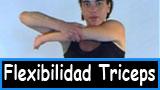 Ejercicios mejorar flexibilidad triceps