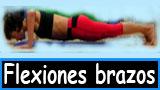 Flexiones de brazos o fondos de brazos