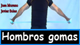 Ejercicios para los hombros con gomas elasticas