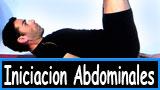 Ejercicios de Iniciacion a los abdominales