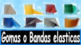 Gomas, tensores, elasticos, theraband