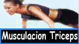 Ejercicios para muscular los triceps