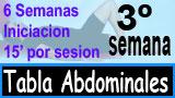 Tercera Semana tabla abdominales 6-3-6