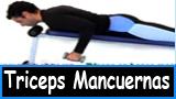 Ejercicios para los triceps con mancuernas