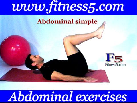 Ejercicio pilates Calentamiento abdominales, movimiento piernas arriba