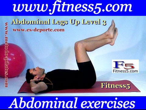 Ejercicio pilates Ejercicio recto interno del abdomen y oblicuos avanzado nivel tres