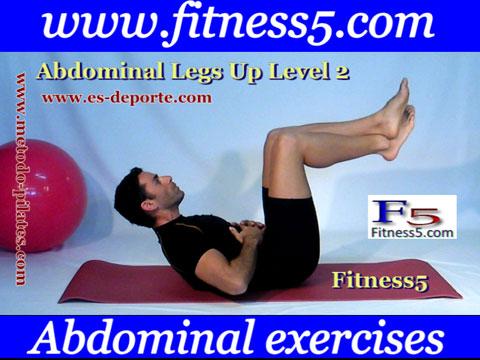 Ejercicio pilates Ejercicio recto interno del abdomen y oblicuos avanzado nivel dos