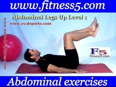 Ejercicio pilates Ejercicio recto interno del abdomen y oblicuos avanzado nivel uno