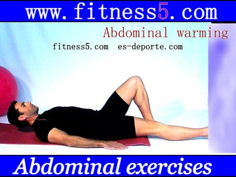 Ejercicio pilates Abdominales y coordinacion de piernas, estirar alternativamente rozando el suelo desde tumbado.