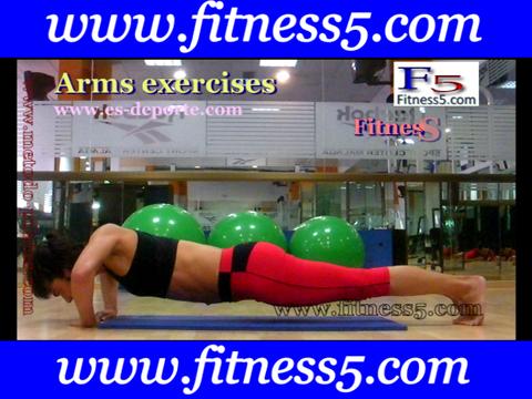 flexiones de triceps